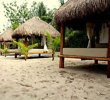Beach Beds of Cozumel by JenJones