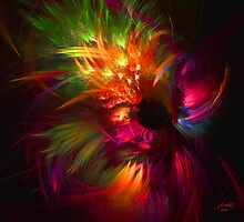 Fractal Fireworks by Julie Everhart