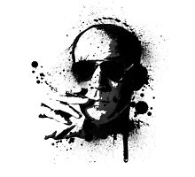 Hunter S. Thompson by LJA Studios
