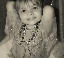 A Portrait.....Smiling Little Girl by Evita