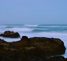 relentess forces, an eternity of waves... by Allan  Erickson