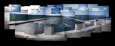 Newcastle Ocean Baths by Naomi Frost