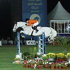 The show jumper by Jo McGowan