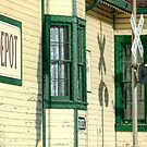 Depot in Jefferson, Texas by Susan Russell