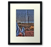 Still.. Framed Print
