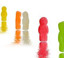 Jellybabies by Alex  Bramwell