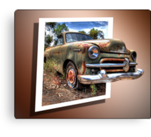 Little Ole Rusty 3D Canvas Print