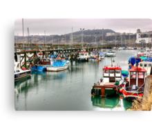 The Harbour ~ Scarborough Canvas Print