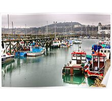 The Harbour ~ Scarborough Poster
