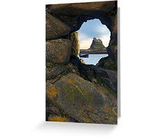 Lindisfarne Castle - Holy Island, Northumberland Greeting Card