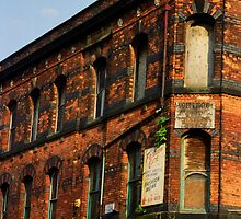Manchester's Textile past by sledgehammer