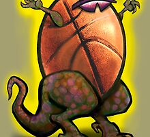 Basketball Zilla by Kevin Middleton