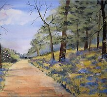 Spring Walk by FrancesArt