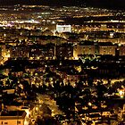 Above Granada at Night by zoopsia