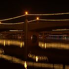 Reflections of Three Bridges by Diana Graves Photography