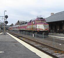 1059 MBTA Commuter line Inbound from stoughton to Boston by Eric Sanford
