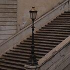Lamp Light in Rome by Cathy  Walker