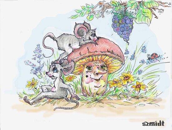 book ilustration by kate szmidt