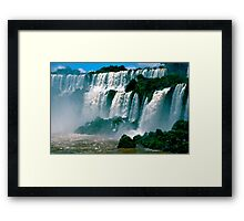 Las Cataratas de Iguazu Framed Print