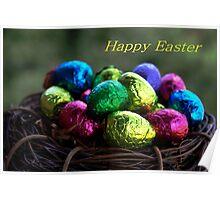 Easter Egg Nest Poster