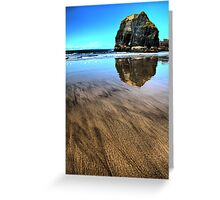 Virgin Rock Seascape - Ballybunion Greeting Card