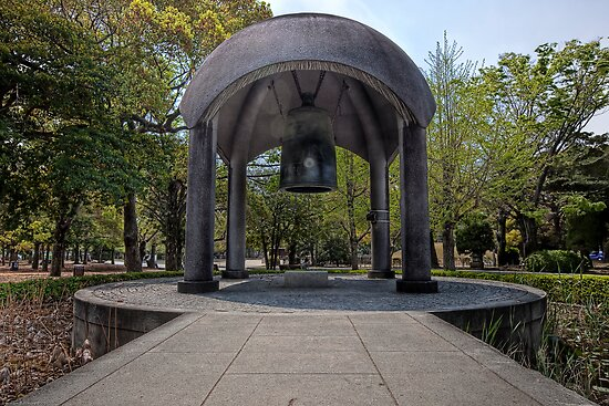 Peace Bell • Hiroshima Peace Memorial Park • Japan by William Bullimore