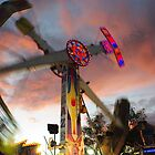 Kamikaze Fair Ground Ride-Tamworth Show,Tamworth,NSW by Craig Stronner