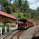 Walhalla Railway Station,Stringers Creek Gorge by Joe Mortelliti