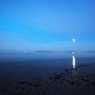 moonlite beach by kathy s gillentine