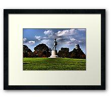 """Orpheus"" Fort McHenry NM. Baltimore, Maryland. Framed Print"