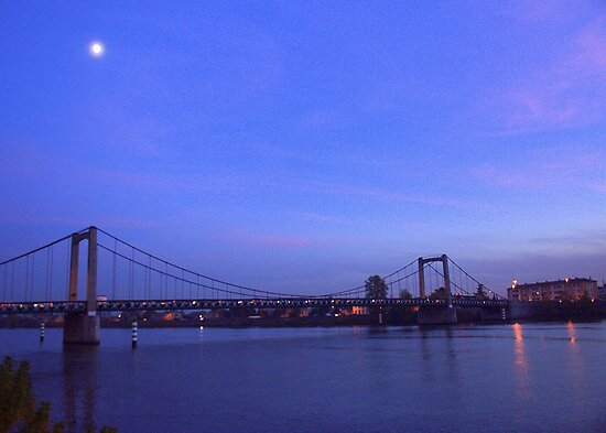 Nightfall on the Rhone by Laurel Talabere