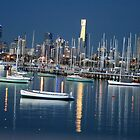 St kilda Pier to the City of Melbourne by lukelorimer