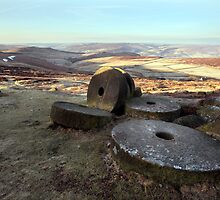 Stanage Edge - Hathersage by SteveMG