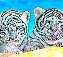 Tiger Cubs by bind