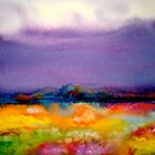 Landscape Abstract...Summer Rain by © Janis Zroback