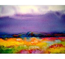 Landscape Abstract...Summer Rain Photographic Print