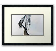 Unholy Smoke 001 Framed Print