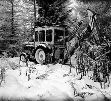 Old Digger by RONI PHOTOGRAPHY