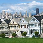 San Francisco Painted Ladies by Gregory Peters