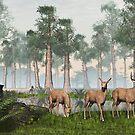 Three Deer by Walter Colvin