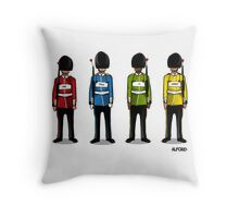 Peace Soldier Print Throw Pillow