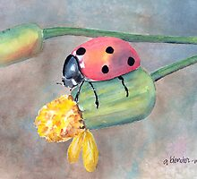 Lady Bug, Lady Bug... by arline wagner