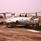 Iraqi War Jet by Charles Buchanan