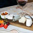 Wine & Cheese by Tracy Riddell