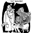 Bad Case Of The Willie Nelsons by Londons Times Cartoons by Rick  London