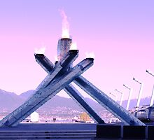 Vancouver 2010 Olympic Cauldron by imarkimages