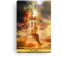 XVI The Tower Metal Print
