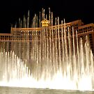 Bellagio Fountains - Las Vegas by Roxanne Persson