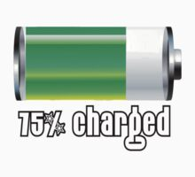 75% charged! by inkspire