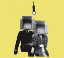 Mr & Mrs Boxhead by Anthony DiMichele